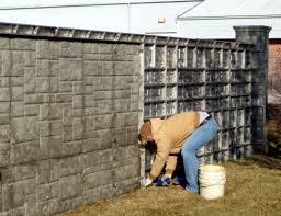 A betonkerítés tulajdonságai