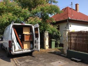 A bútorszállítás Győrben megoldható