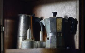 Klasszikus kotyogós kávéfőző