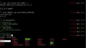 Shell - Scriptek készítése